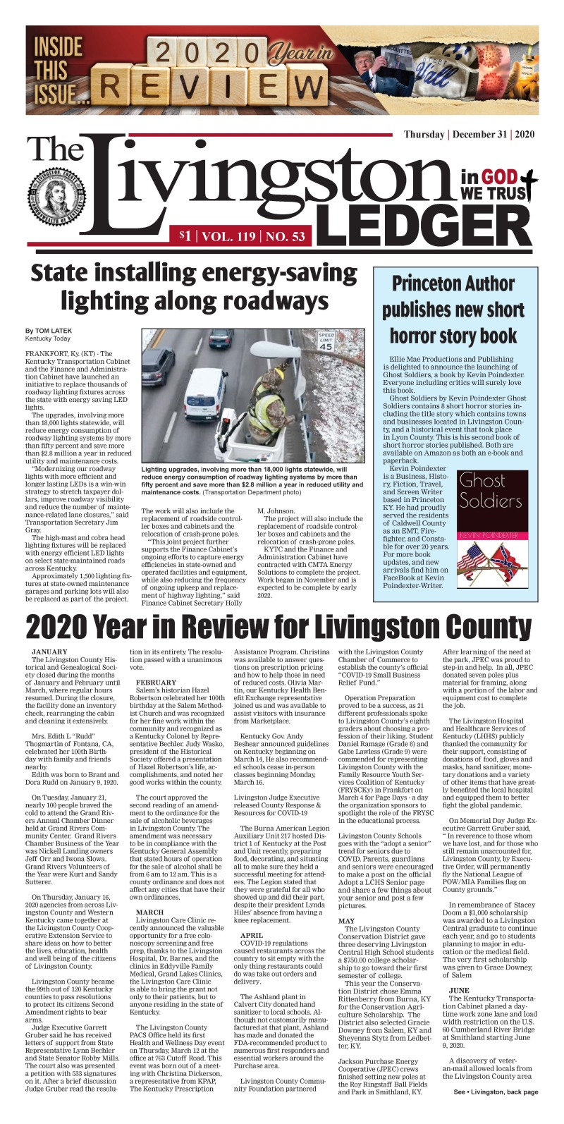 Livingston Ledger  12-31-20