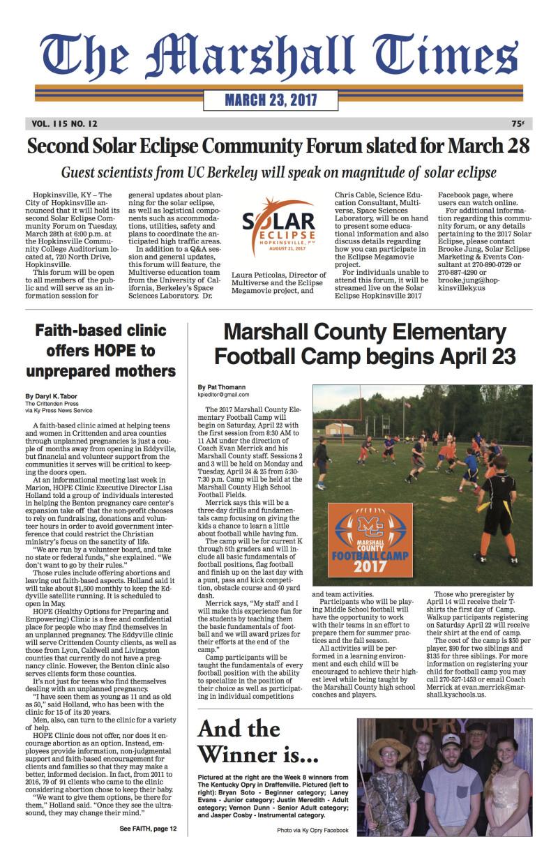The Marshall Times 3-23-17