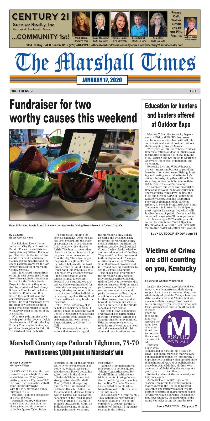 The Marshall Times 1-17-20