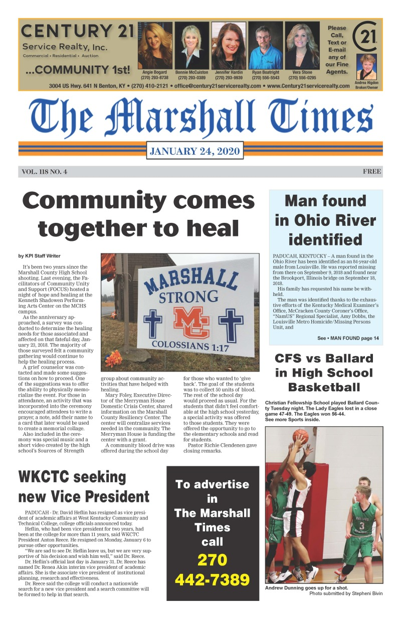 The Marshall Times 1-24-20