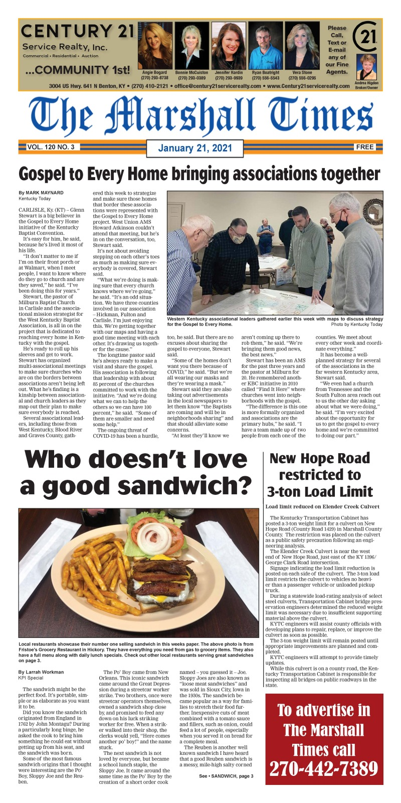 The Marshall Times 1-21-21
