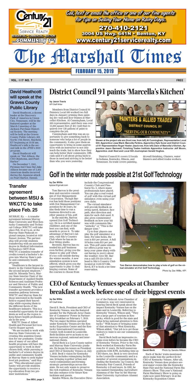 The Marshall Times 2-15-19