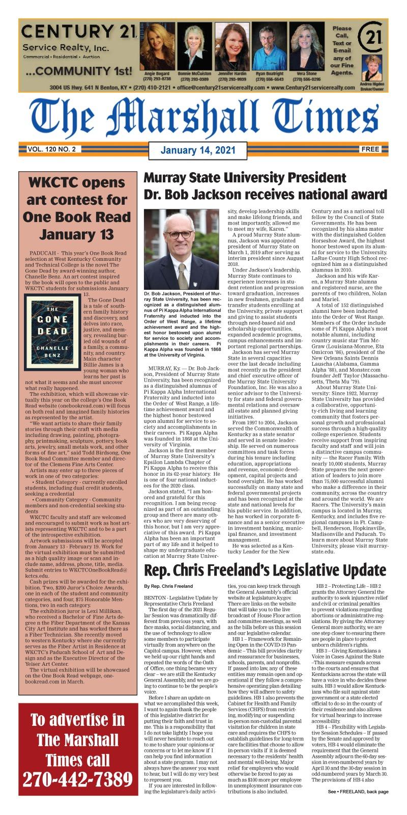 The Marshall Times 1-14-21