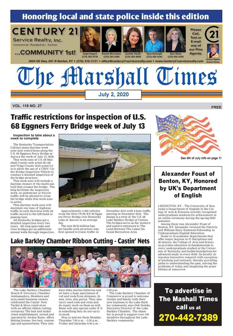The Marshall Times 7-2-20