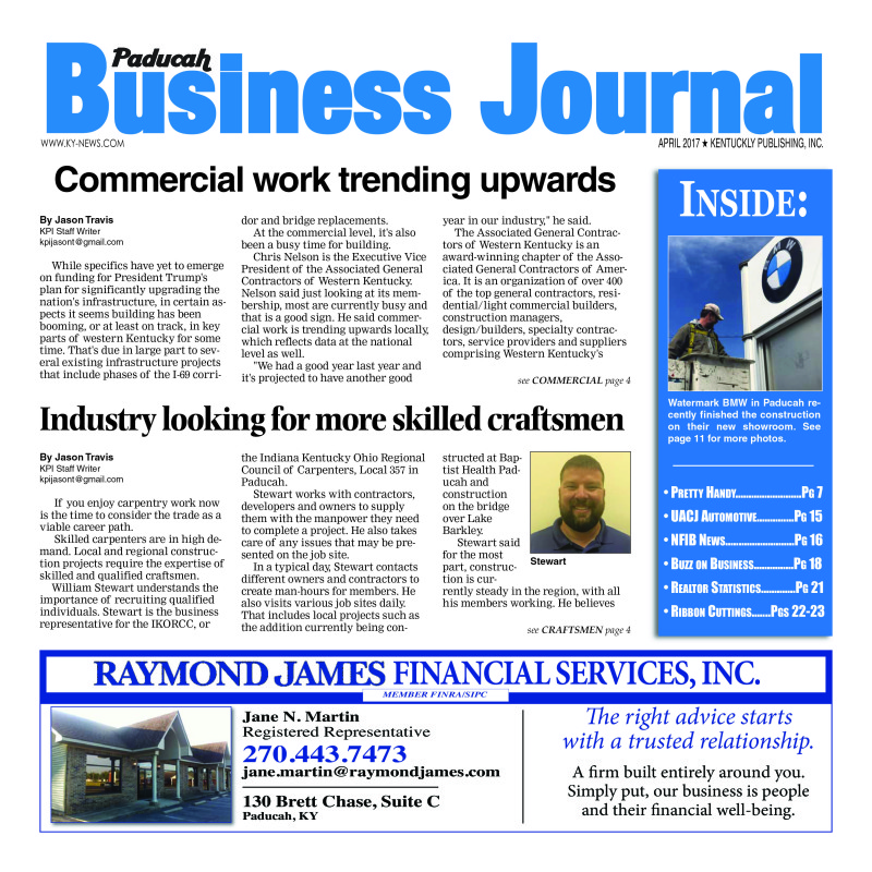 Paducah Business Journal April 2017