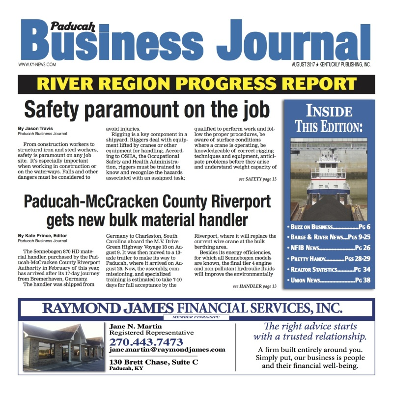 Paducah Business Journal August 2017