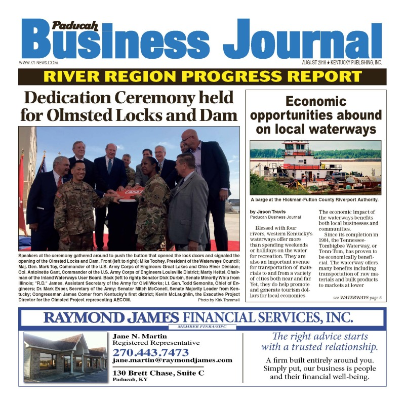 Paducah Business Journal August 2018