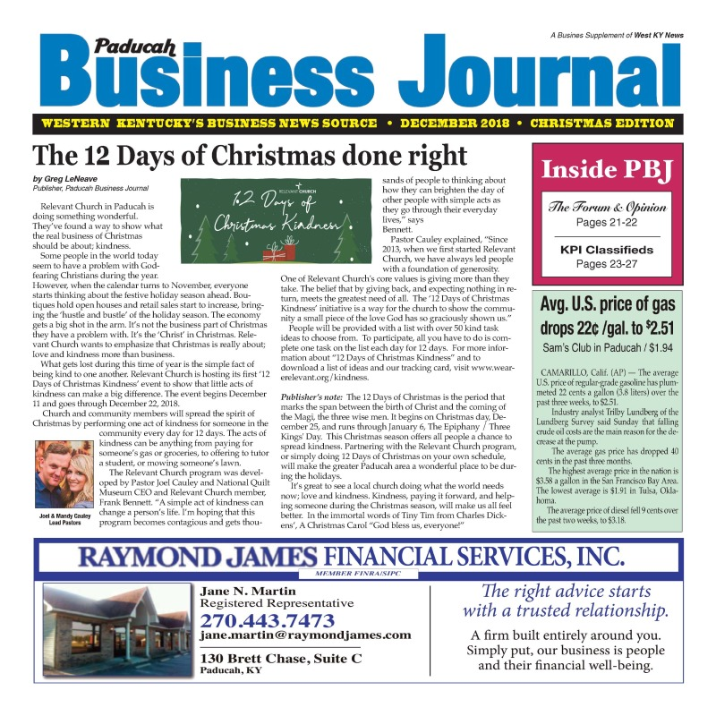 Christmas Business Journal 2018