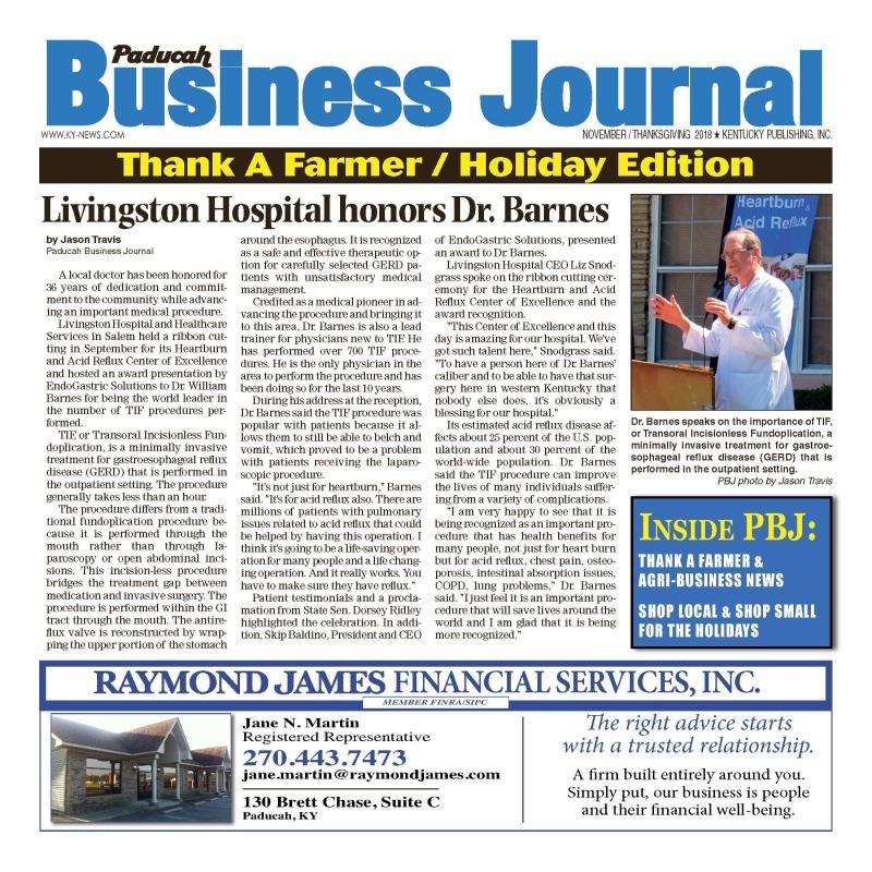 Paducah Business Journal November 2018