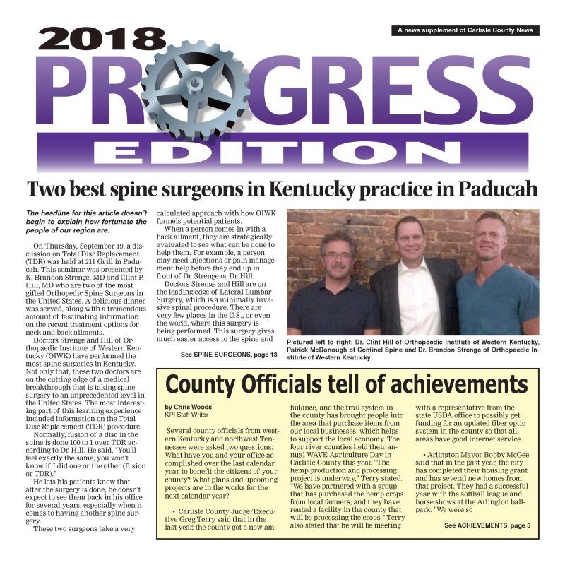 Southern Progress Edition 2018