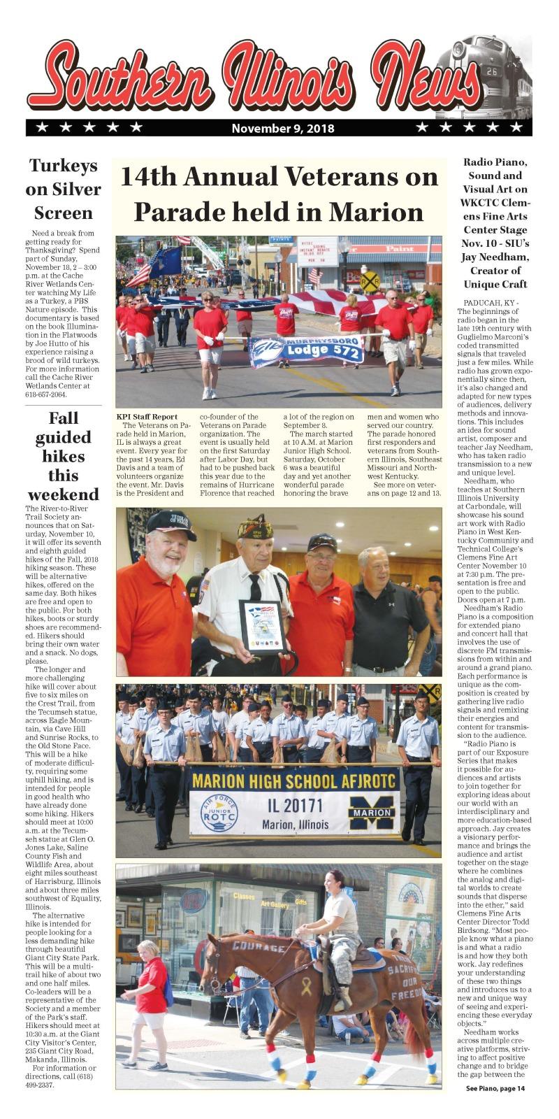 Southern Illinois News 11-9-18