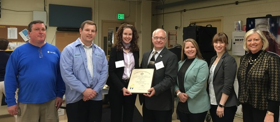 H.B. Fuller in Paducah presented Governor's Safety and Health Award
