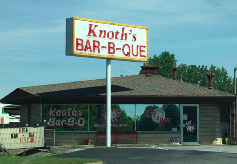 Knoth's BBQ closing after nearly 52 years in business