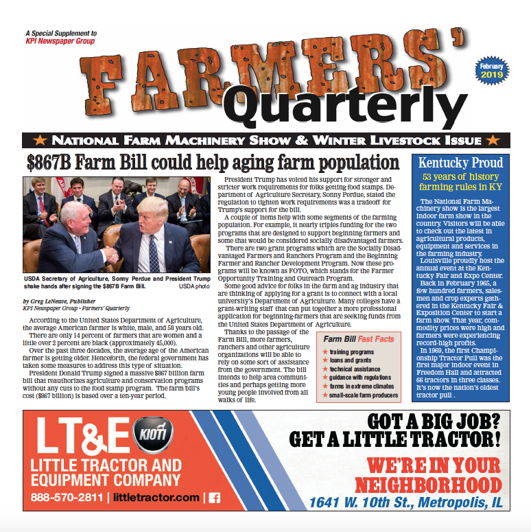 Farmers' Quarterly February 2019
