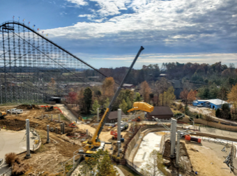 HOLIDAY WORLD'S 'CHEETAH CHASE' GOES VERTICAL