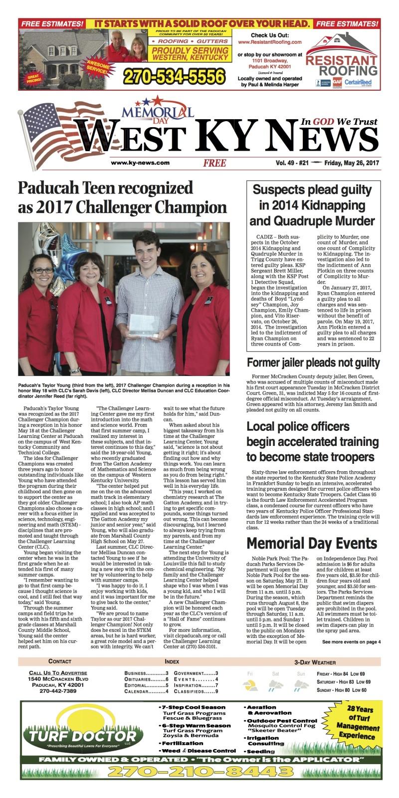 West Ky News 5-26-17