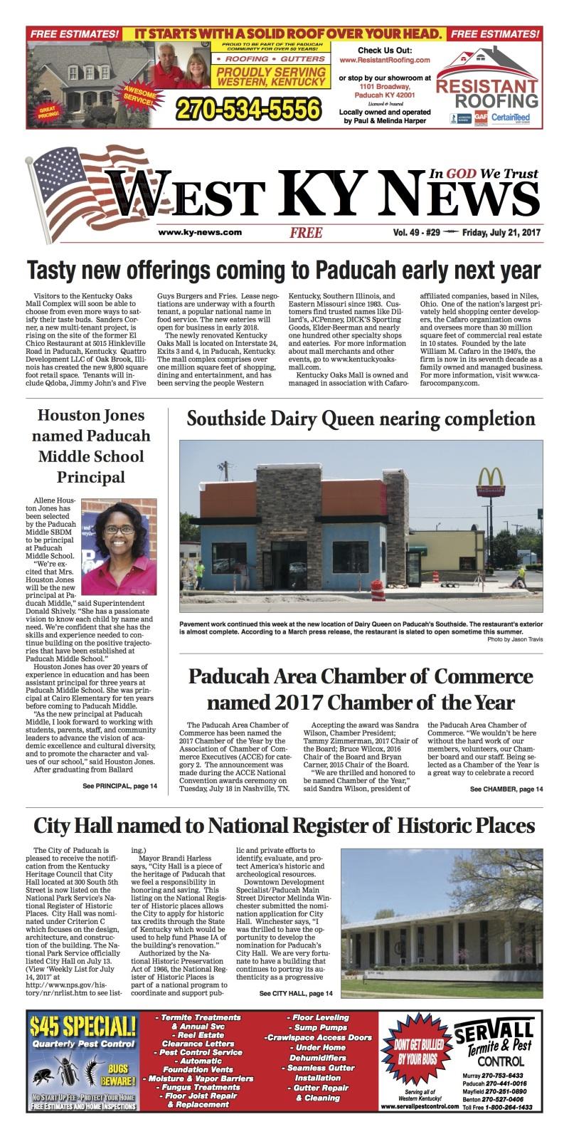 West Ky News 7-21-17