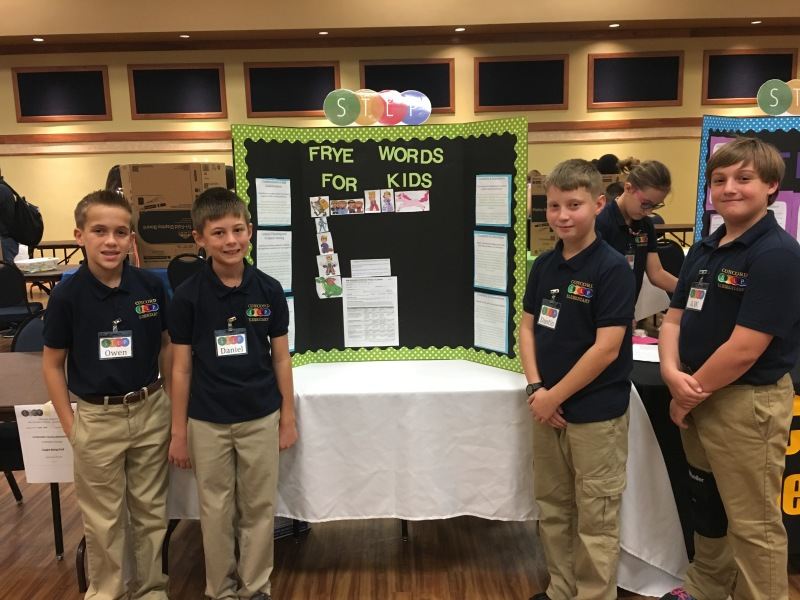 Concord Elementary STLP students advance to state competition