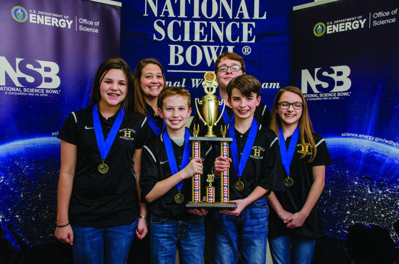 Heath Middle School Triumphs at DOE Regional Science Bowl