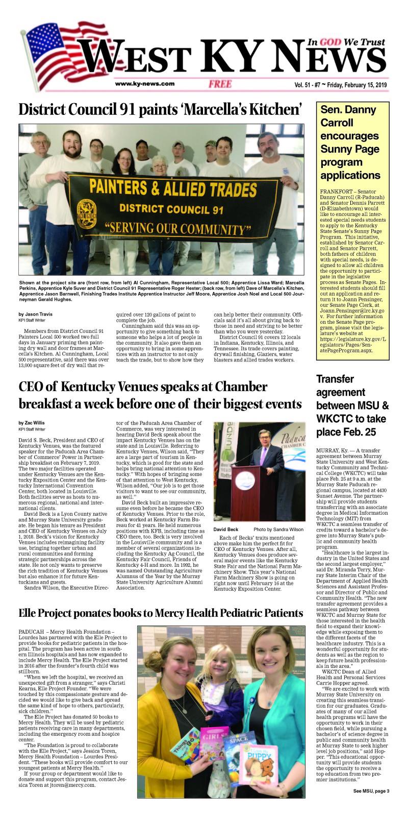 West KY News 2-15-19