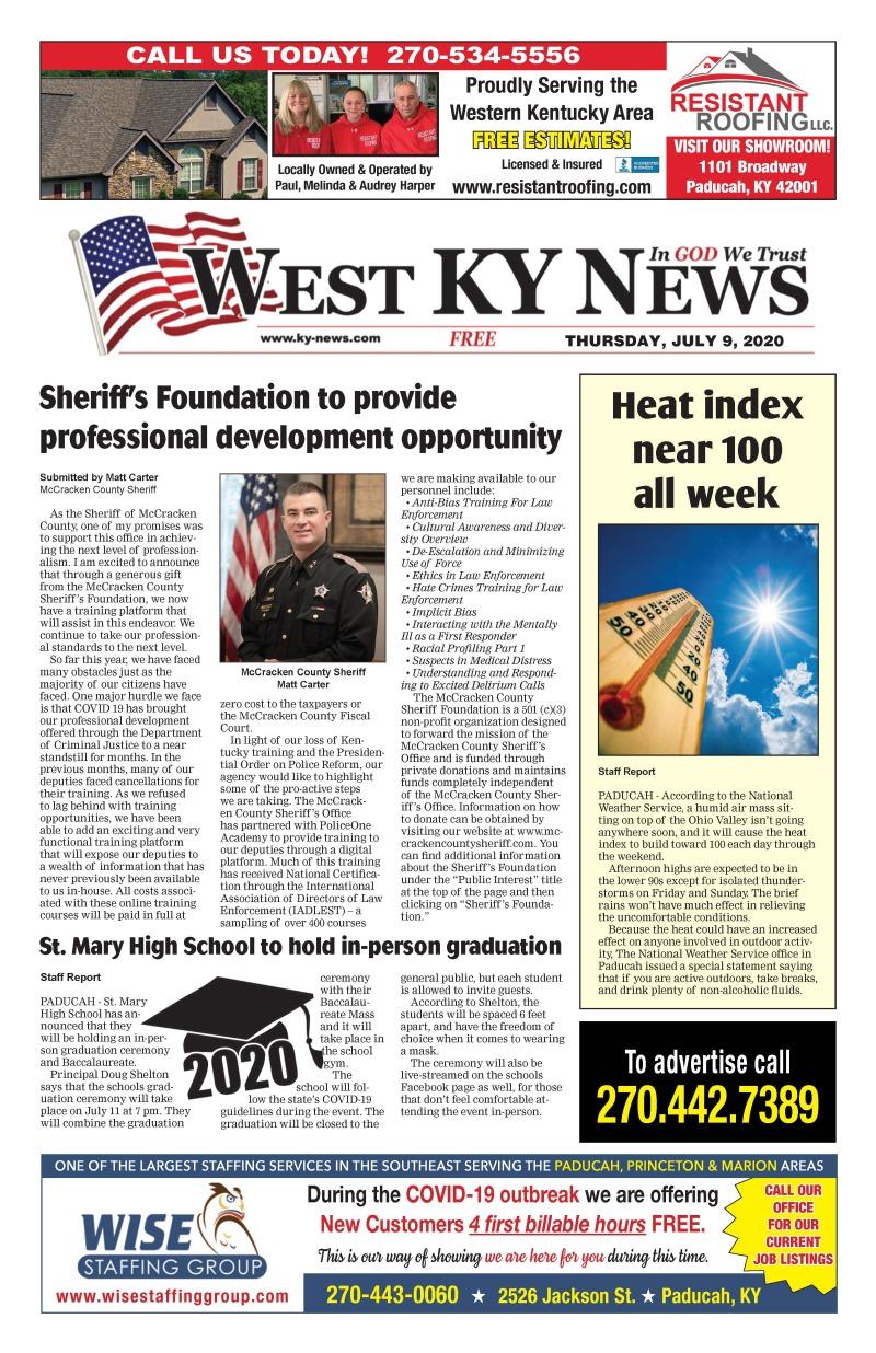 West KY News 7-9-20
