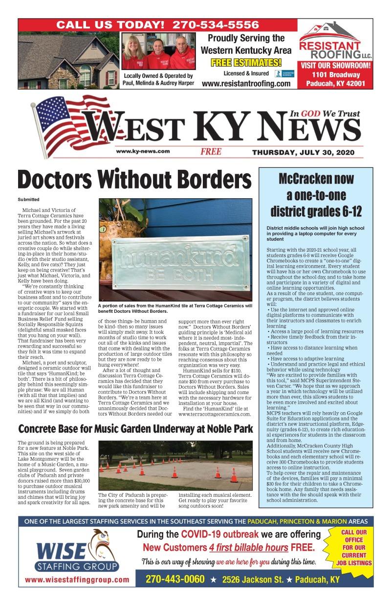 West KY News 7-30-20