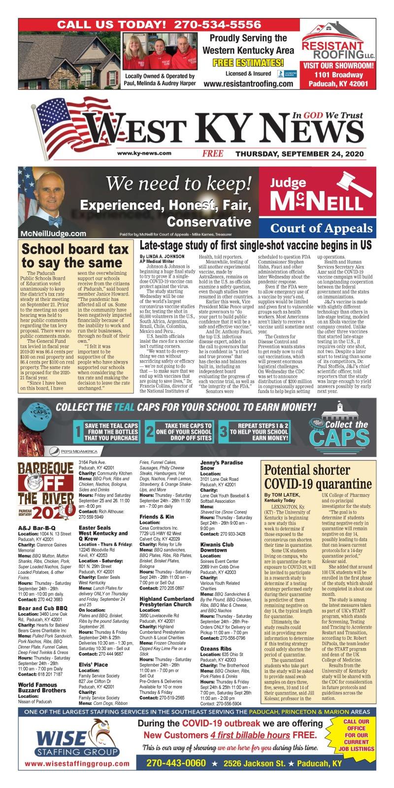 West KY News 9-24-20
