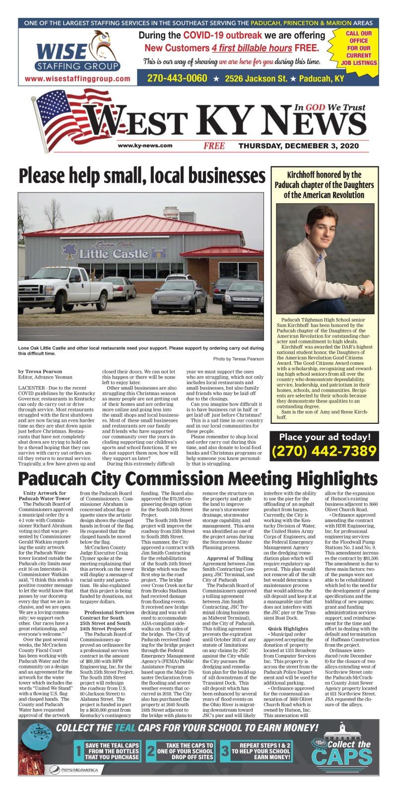 West KY News 12-3-20