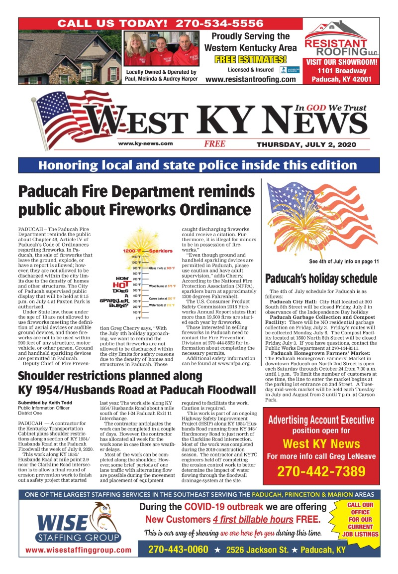 West KY News 7-2-20