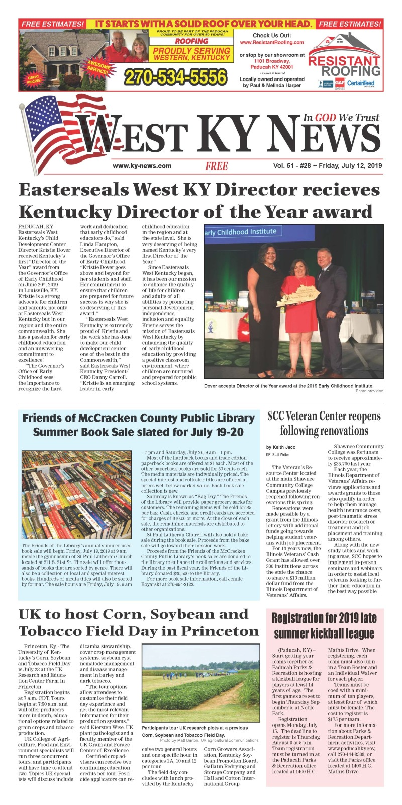 West KY News 7-12-19