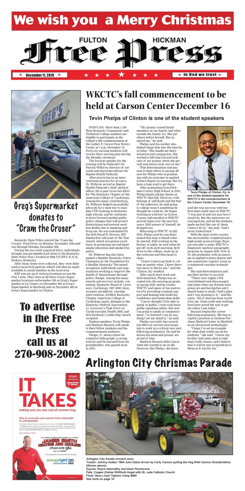 Fulton Hickman Free Press 12-11-19