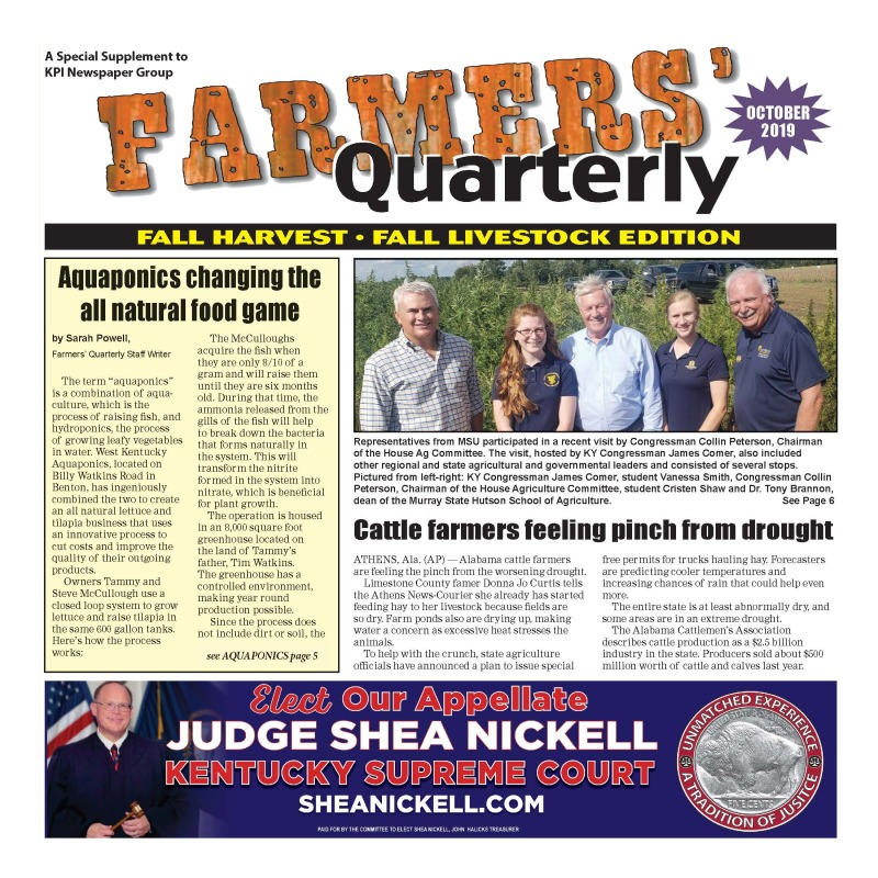 Farmer's Quarterly October 2019
