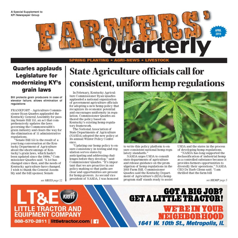 Farmer's Quarterly April 2019