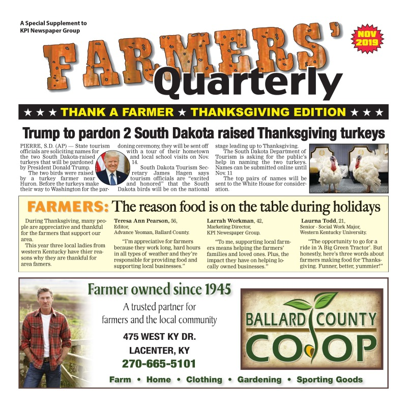 Farmer's Quarterly November 2019