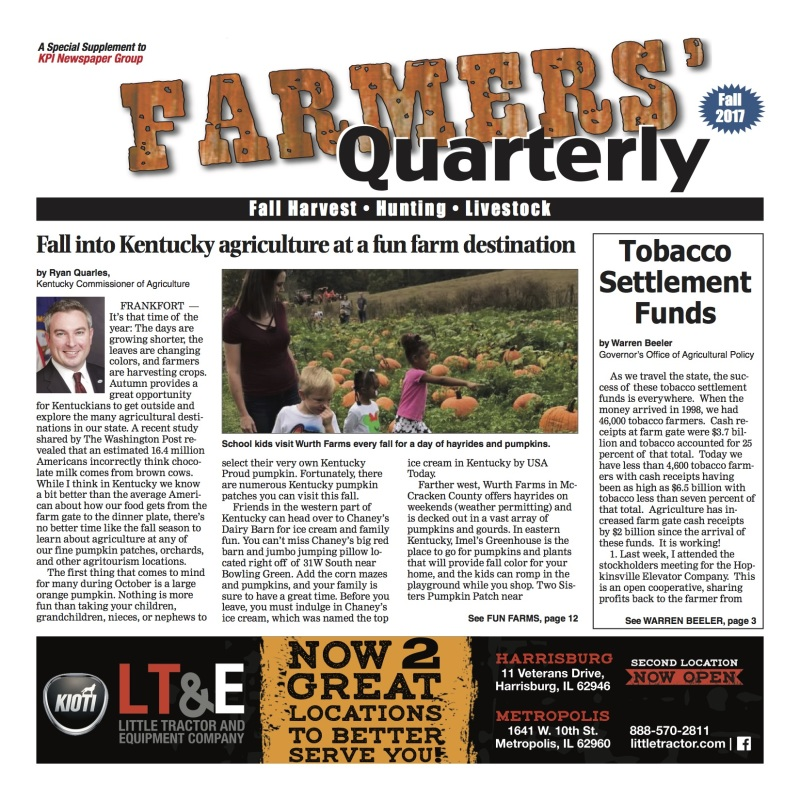 Farmer's Quarterly October 2017