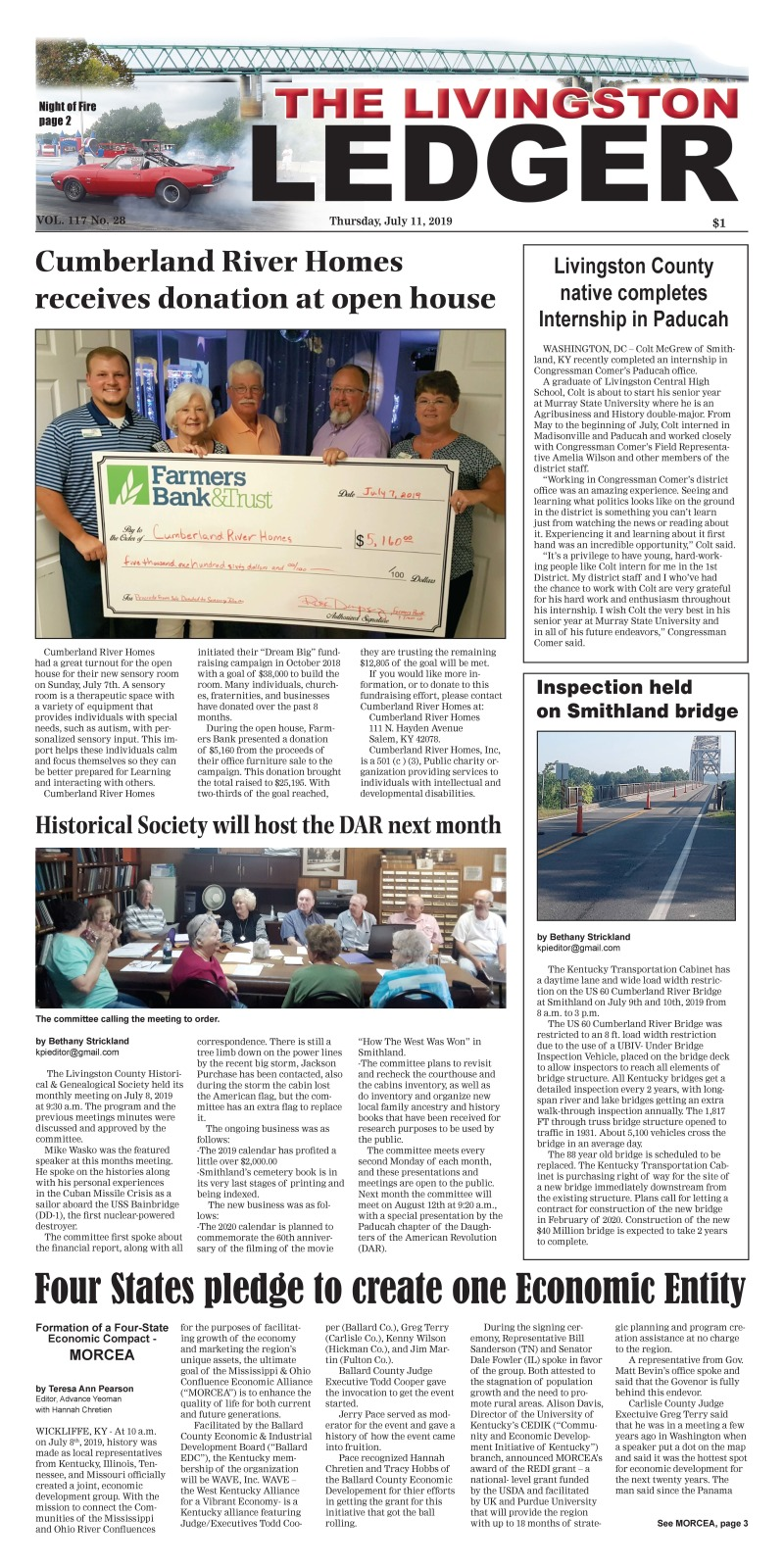 Livingston Ledger 7-11-19