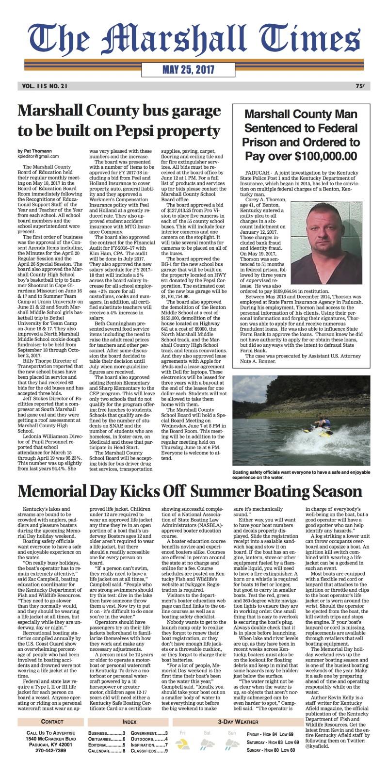 The Marshall Times 5-25-17