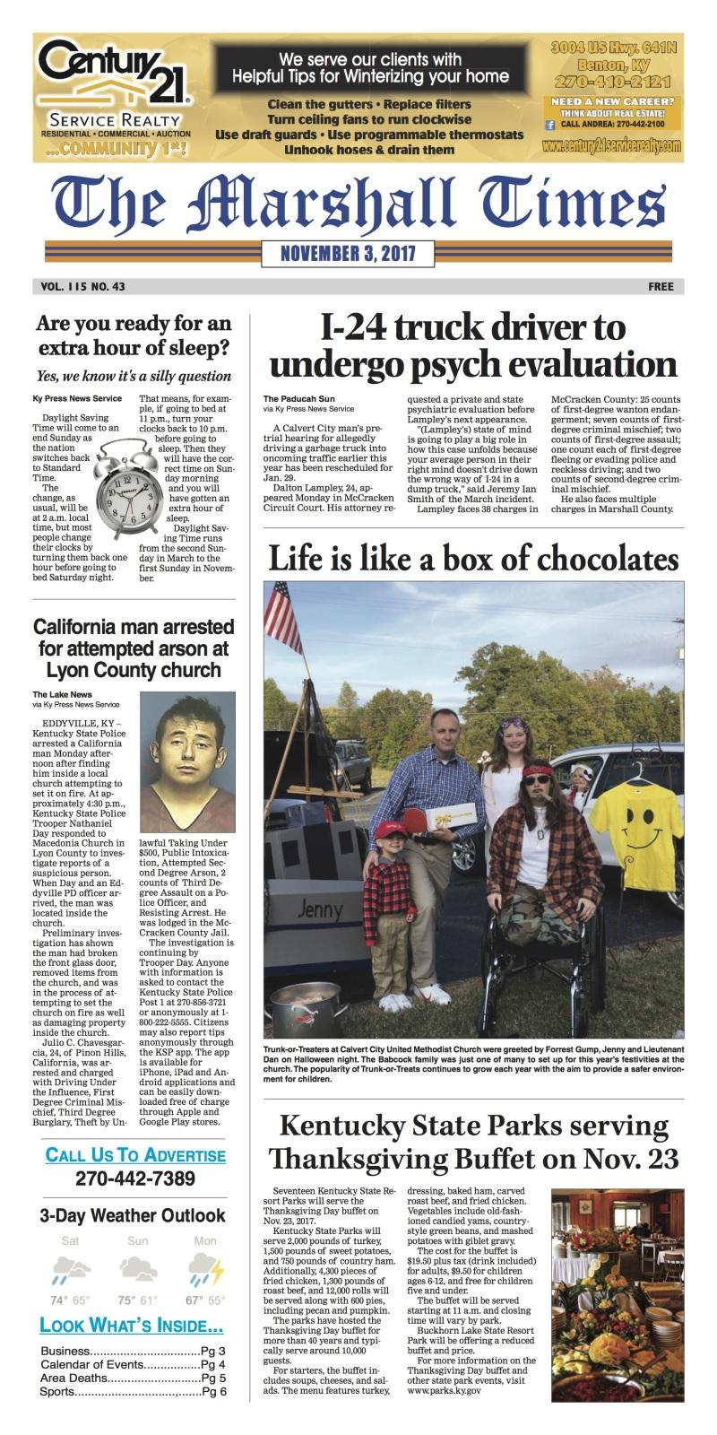 The Marshall Times 11-3-17