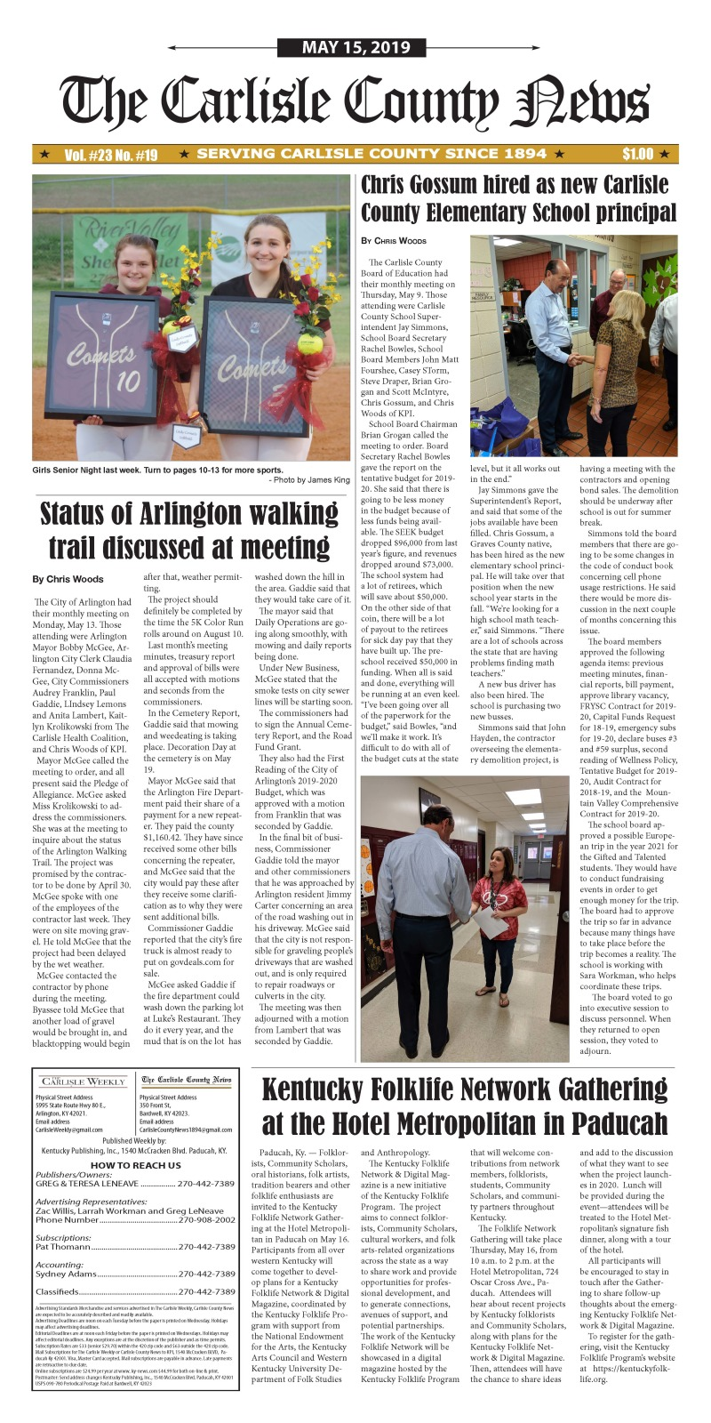 Carlisle County News 5-15-19