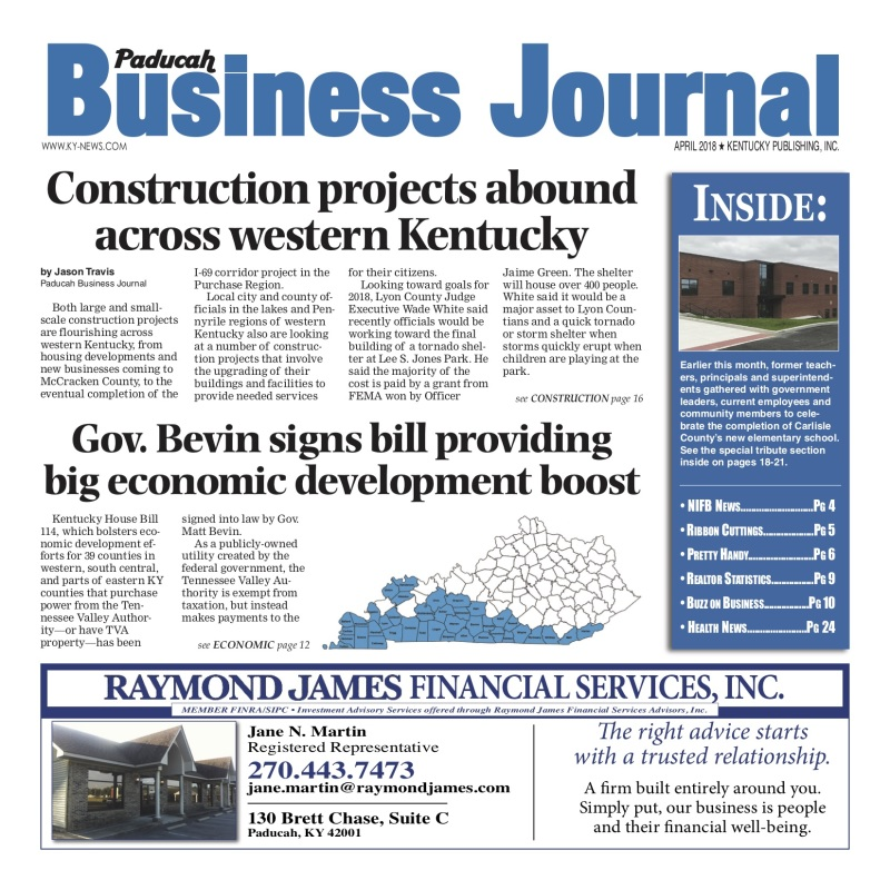 Paducah Business Journal April 2018
