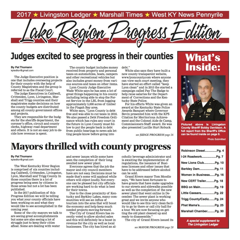 Livingston Ledger Progress Edition