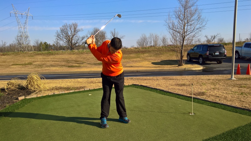 Kight, Golf Complex help to improve player performance