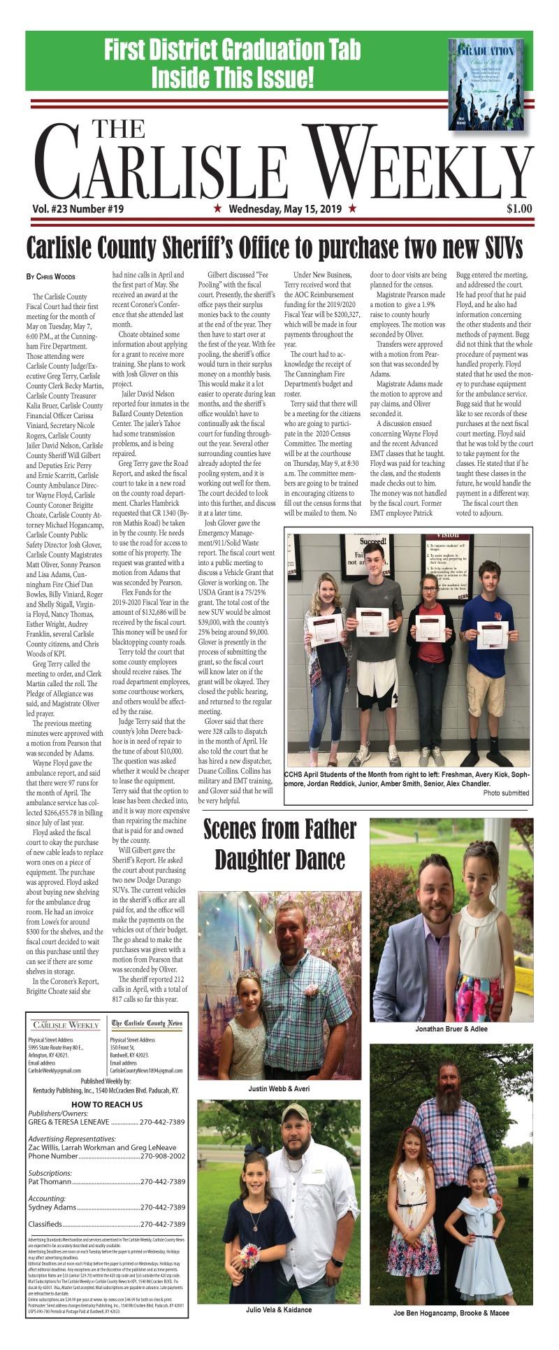 Carlisle County Weekly 5-15-19