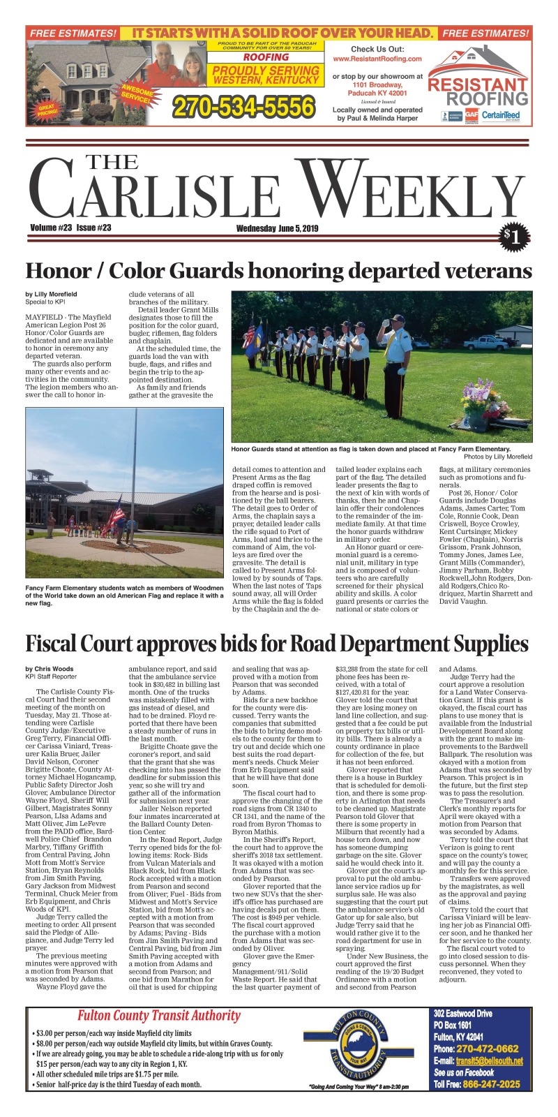 Carlisle County Weekly 6-5-19