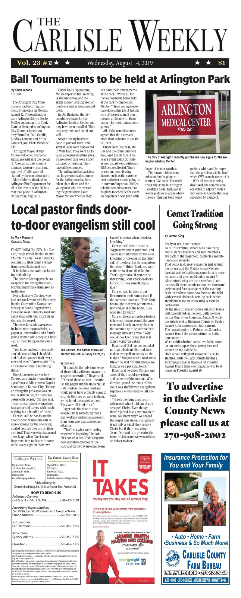 Carlisle County Weekly 8-14-19