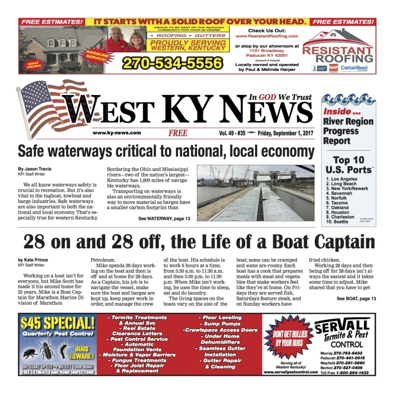 West KY News 9-1-17