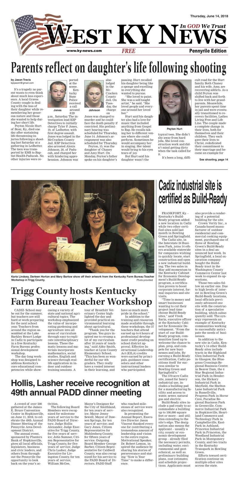 West KY News: Pennyrile Edition 6-14-18